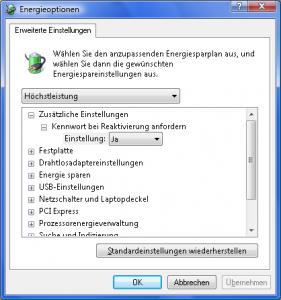 Reaktivierung des Server-Betriebssystems